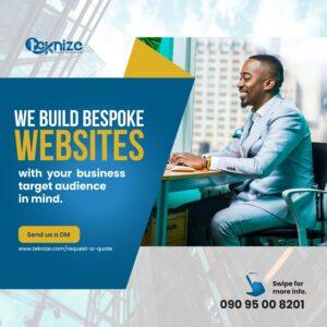 We build bespoke website