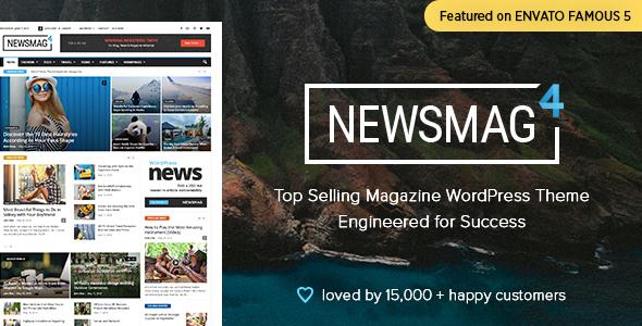 NewsMag Premium WordPress Theme