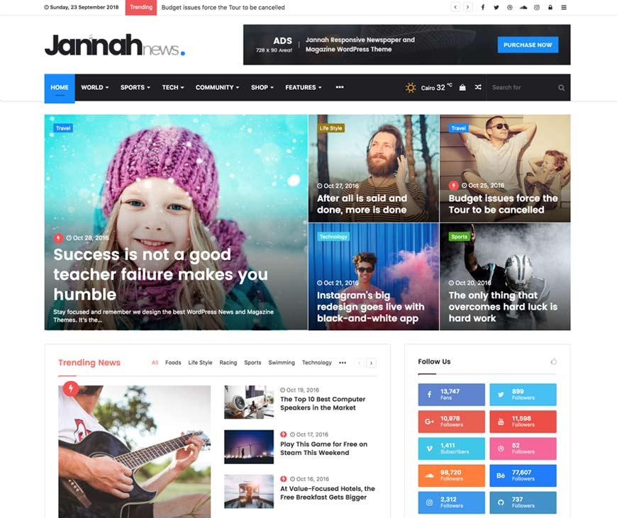 Jannah Premium WordPress Theme